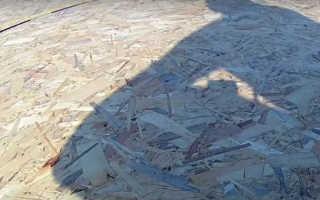 Как построить плоскую крышу своими руками