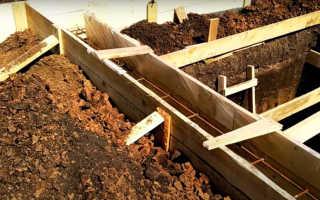 Как просто построить фундамент гаража