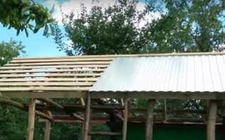 Как соорудить двускатную крышу для жилых и хозяйственных построек