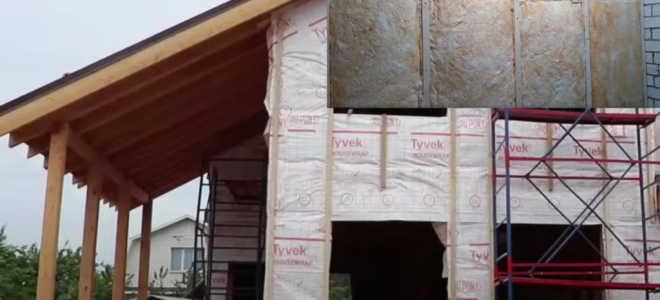 Выбор теплоизоляции для дома с деревянным каркасом