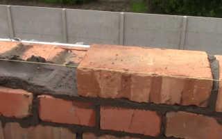Способ кладки кирпичной стены своими руками