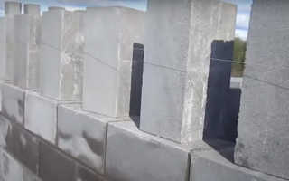 Как класть бетонные блоки