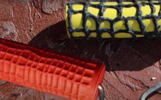 Какие бывают валики для декоративной штукатурки