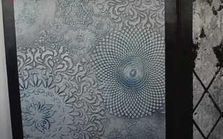 Трафарет для декоративной штукатурки своими руками