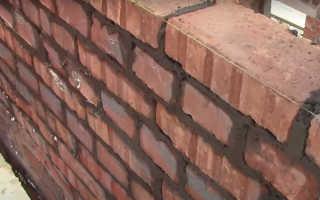 Как правильно класть кирпичную стену самому