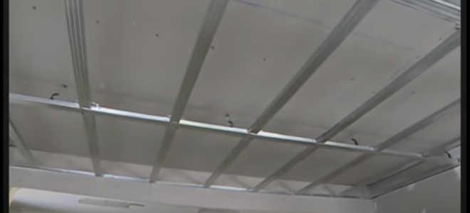 Как самому сделать Подвесной потолок